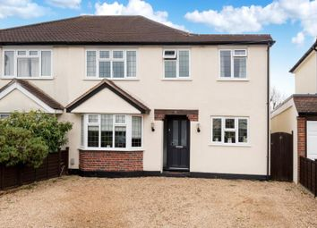 Thumbnail 4 bed semi-detached house for sale in Normanhurst Road, Walton-On-Thames