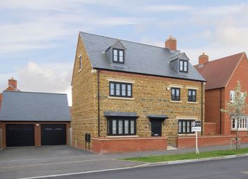 Thumbnail 5 bed detached house for sale in Juno Crescent, Brackley