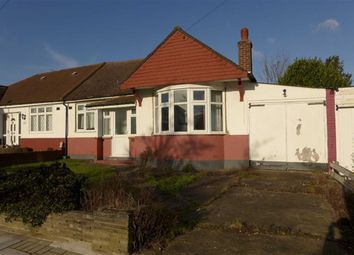 Thumbnail 2 bed semi-detached bungalow for sale in Jersey Avenue, Stanmore, Middlesex