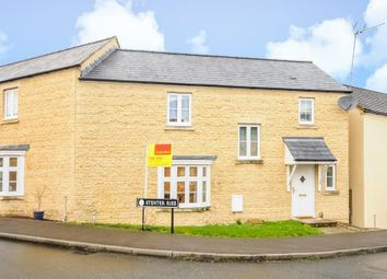Thumbnail 3 bed semi-detached house for sale in Meadow Lane, Witney