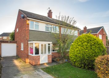 Thumbnail 3 bed semi-detached house for sale in Sunningdale Avenue, Alwoodley, Leeds