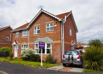 Thumbnail 3 bed semi-detached house for sale in Kirkharle Drive, Morpeth