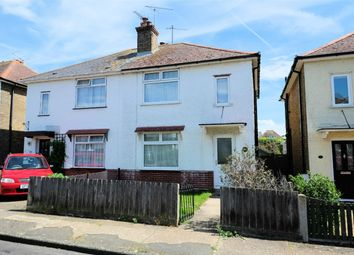 Thumbnail 2 bed semi-detached house for sale in Fitzroy Road, Tankerton, Whitstable, Kent