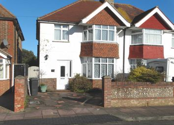 3 bed semi-detached house to rent in Hunloke Avenue, Eastbourne BN22