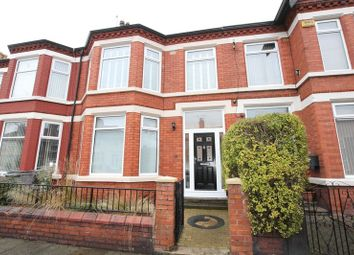 Thumbnail 4 bed terraced house for sale in Mount Road, Tranmere, Wirral