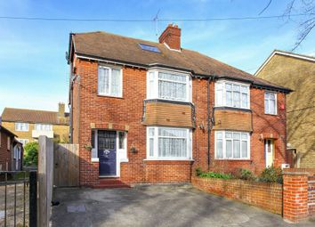 Thumbnail 4 bed semi-detached house for sale in Station Approach Road, Ramsgate