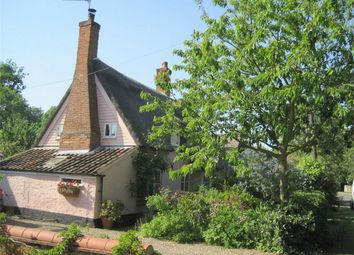 Thumbnail 3 bed cottage for sale in Grange Farm Cottage, The Street, Bramerton, Norwich