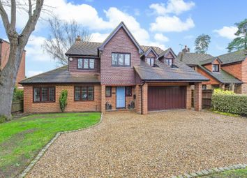Thumbnail 5 bed detached house to rent in Gower Road, Weybridge
