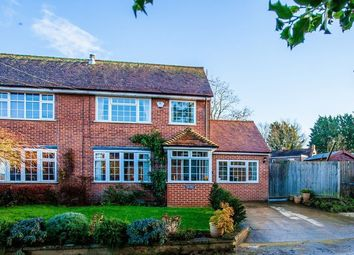 Thumbnail 3 bed semi-detached house for sale in Little Tingewick, Buckingham