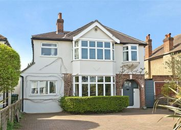Thumbnail 4 bedroom detached house for sale in Esher Road, East Molesey, Surrey