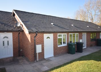 Thumbnail 1 bed terraced bungalow to rent in Tynefield Mews, Egginton Road, Etwall