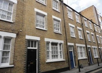 Thumbnail 3 bed town house to rent in Princelet Street, Aldgate East