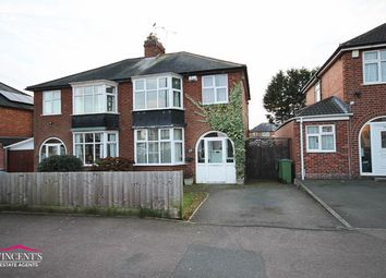 Thumbnail 3 bed semi-detached house for sale in Turnbull Drive, Leicester
