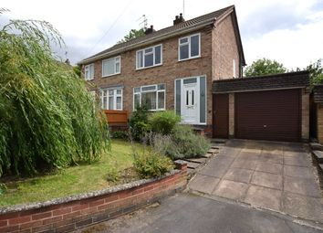 Thumbnail 3 bedroom semi-detached house for sale in Ludgate Close, Birstall, Leicester
