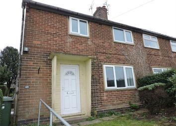 Thumbnail 3 bed semi-detached house to rent in Brook Avenue, Alfreton, Derbyshire