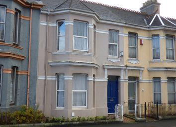 Thumbnail 4 bed terraced house to rent in Beaumont Road, Plymouth
