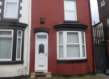 Thumbnail 2 bed terraced house to rent in Balfour Street, Liverpool