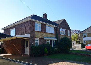 Thumbnail 3 bed semi-detached house for sale in Sunna Gardens, Lower Sunbury, Middx