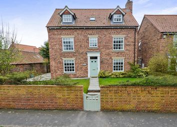 Thumbnail 5 bed detached house for sale in Hazlewood House Church Lane, Wheldrake, York