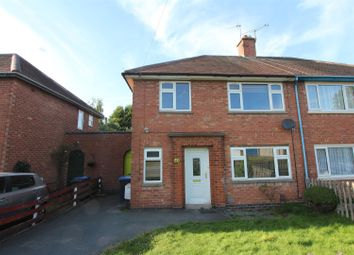 Thumbnail 3 bed semi-detached house for sale in Moore Road, Barwell, Leicester