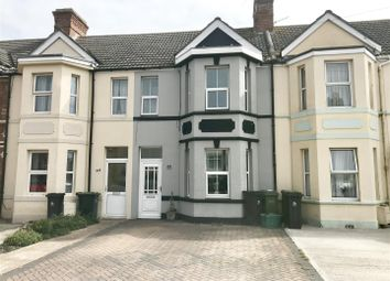 Thumbnail 3 bed terraced house for sale in Newstead Road, Weymouth