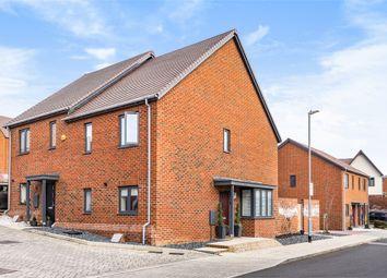 Thumbnail 3 bed semi-detached house for sale in Hoadley End, Castle Hill, Ebbsfleet Valley, Swanscombe, Kent