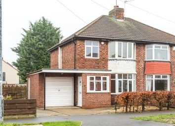 Thumbnail 3 bed semi-detached house to rent in Burnholme Drive, York, North Yorkshire