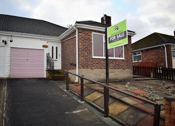 Thumbnail 2 bed semi-detached bungalow for sale in Crow Wood Avenue, Ightenhill, Burnley
