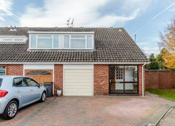 Thumbnail 3 bed semi-detached house for sale in Clifton Close, Addlestone, Surrey