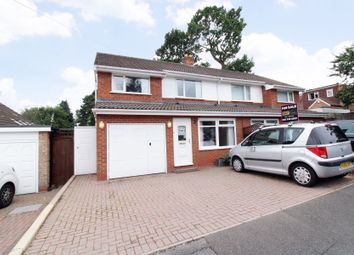 Thumbnail 3 bed semi-detached house for sale in Sandy Hill Rise, Shirley, Solihull