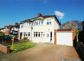 Thumbnail 3 bed semi-detached house for sale in Longmead Drive, Sidcup, Kent