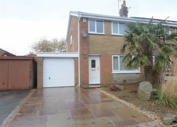 Thumbnail 3 bedroom semi-detached house to rent in Hambleton Drive, Penwortham, Preston