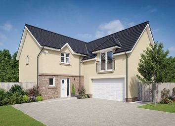 "Thumbnail 5 bedroom detached house for sale in ""The Dewar"" at West Road, Haddington"