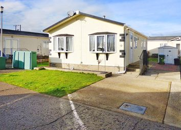 Thumbnail 2 bed mobile/park home for sale in Climping Park, Bognor Road, Climping