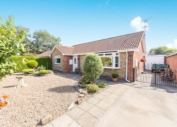 Thumbnail 2 bed bungalow for sale in Greenfields, Pollington, Goole