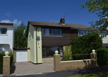 Thumbnail 3 bed semi-detached house to rent in Highfield Road, Caerleon, Newport