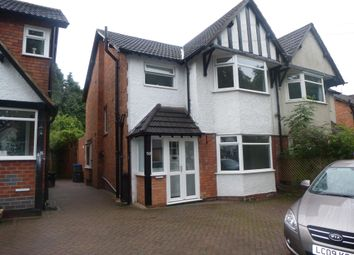Thumbnail 3 bedroom property to rent in Green Road, Hall Green, Birmingham