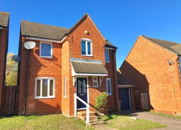 Thumbnail 3 bed detached house for sale in St Brides Close, Springfield, Milton Keynes