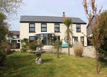 Trethurgy, St. Austell PL26. 4 bed detached house for sale