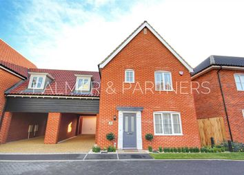 Thumbnail 3 bedroom link-detached house for sale in Foundry Close, Glemsford, Sudbury
