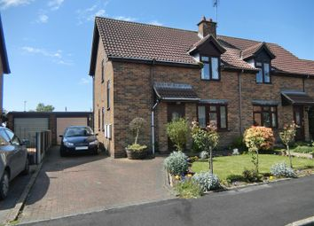 Thumbnail 3 bed semi-detached house for sale in Ashland Drive, Coalville, Leicestershire