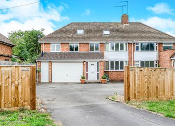 Thumbnail 5 bed semi-detached house for sale in Old Road, Southam