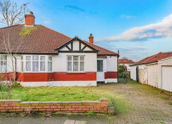Thumbnail 3 bed semi-detached bungalow for sale in Tudor Close, London