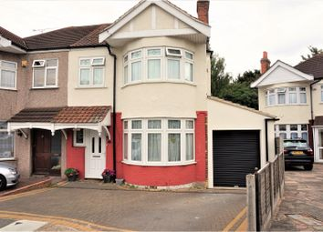 Thumbnail 3 bed semi-detached house for sale in Parkside Avenue, Romford