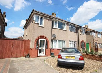 Thumbnail 3 bed semi-detached house for sale in North Road, Crayford, Dartford