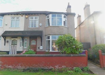 Thumbnail 3 bed semi-detached house to rent in Woolton Road, Wavertree, Liverpool