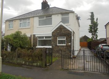 Thumbnail 3 bedroom property to rent in Tanyrallt Avenue, Bridgend, Bridgend.