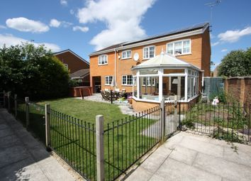 Thumbnail 6 bed detached house for sale in Dunsberry, Peterborough
