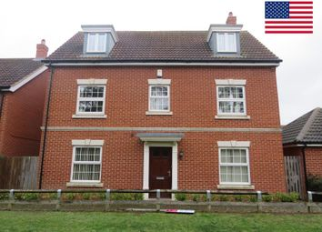 Thumbnail 5 bedroom detached house to rent in Hazel Walk, Red Lodge, Bury St. Edmunds