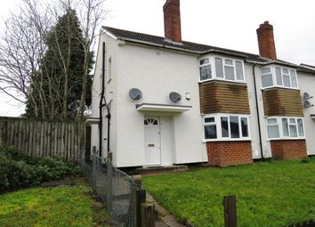 Thumbnail 1 bed maisonette to rent in Braymoor Road, Birmingham